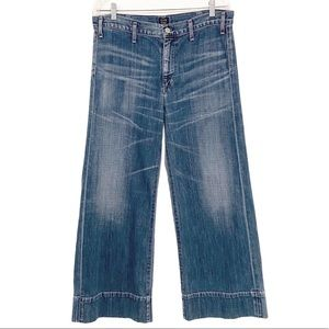 Citizens Of Humanity Abigail Cropped Wide Leg Jean